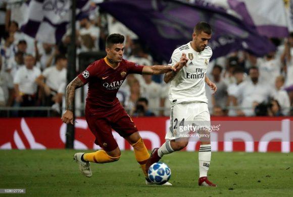 Romanistas e madridistas dividem a liderança do grupo G da Champions League com 9 pontos. Contudo, o Real Madrid supera a Roma no saldo de gols (2 dos espanhóis contra 0 da Roma).