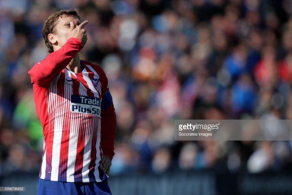 O Atlético Madrid soou a camisa para empatar com o Leganés por 1 a 1 no final de semana. Por essas e outras, o time não engrenou até agora na temporada.