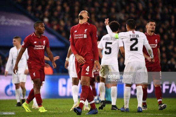O Liverpool perdeu os três jogos disputados como visitante na Champions League.