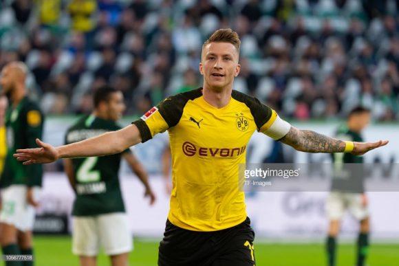 Marco Reus é o artilheiro do Borussia Dortmund na temporada com 9 gols marcados. Além disso, o astro auri-negro esteve presente nas 15 partidas disputadas pelo time, um dado que reforça a tese de que ele realmente se recuperou das constantes lesões que o assolavam.,