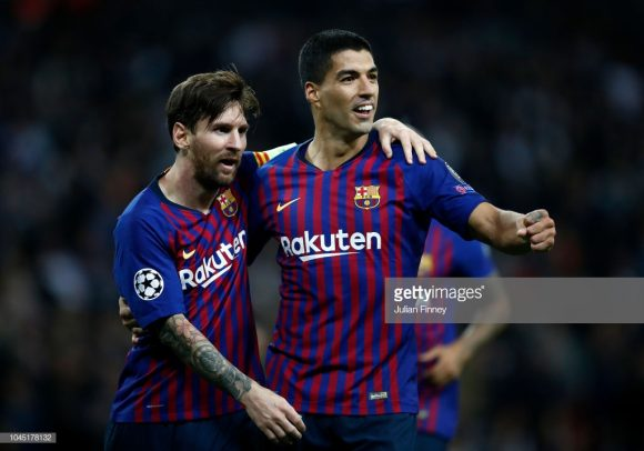 O Barcelona é dono do melhor ataque da La Liga com 37 gols marcados, sendo que Lionel Messi e Luis Suárez são os dois maiores goleadores da equipe na competição com nove tentos cada.