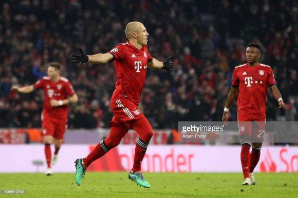 Arjen Robben anunciou que não renovará o seu contrato, logo, esta á a última temporada do holandês defendendo as cores do time bávaro.