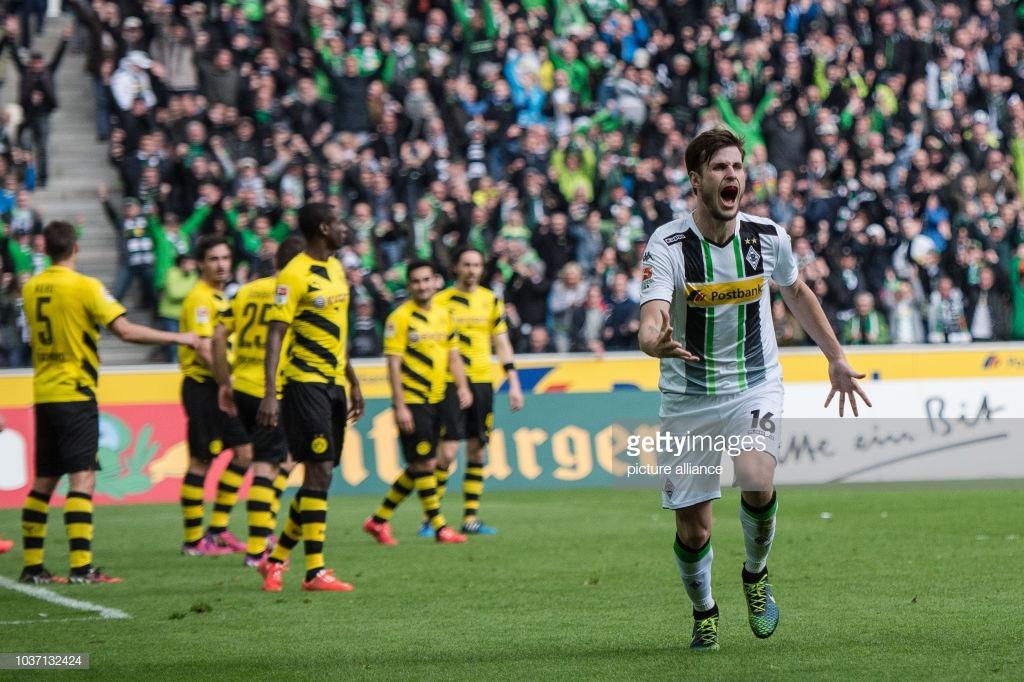 A última vitória do Borussia Monchengladbach sobre o Borussia Dortmund (3 x 1), aconteceu apenas em 2015, há exatos três anos.