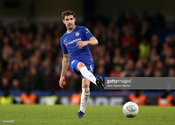 Ao que tudo indica, o jogo frente o Crystal Palace deve ser o último de Cesc Fàbregas com a camisa do Chelsea, já que o meia espanhol está de malas prontas para o Milan.