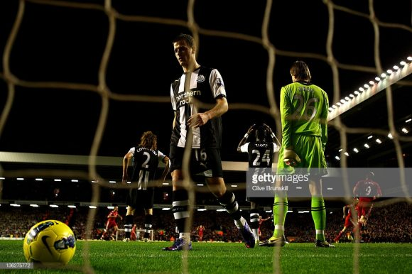 Tabu: o Newcastle não vence o Liverpool no estádio Anfield Road desde 1995, há exatos 23 anos.
