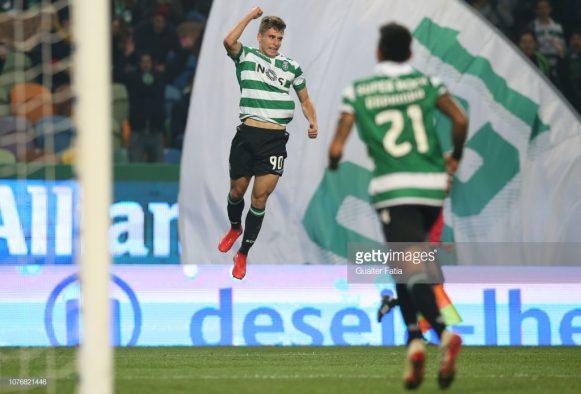 O Sporting segue invicto em casa até aqui pela Primeira Liga. Foram oito vitórias nos oito jogos realizados pela equipe em Alvalade.