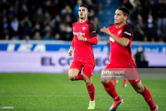 Os atacantes Wissam Ben Yedder e André Silva são os artilheiros do Sevilla na La Liga, com oito tentos cada um.