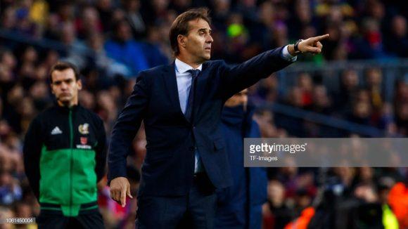 O técnico Julen Lopetegui foi demitido após cinco meses de sua chegada ao Santiago Bernabéu.