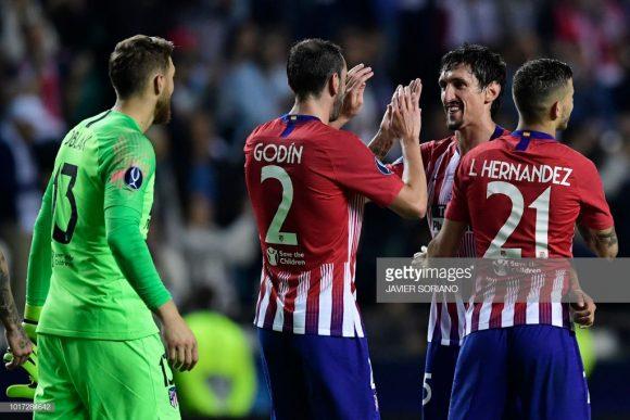 Com apenas 12 gols sofridos em 17 jogos, o Atlético Madrid é dono da melhor defesa da La Liga.