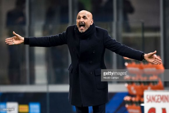 No comando da Inter deste junho de 2017, o treinador Luciano Spalletti acumula 36 vitórias, 18 empates e 16 derrotas à frente da equipe, registrando uma performance de 60% de aproveitamento.