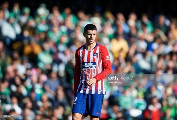 Emprestado pelo Chelsea ao Atlético Madrid até o final da temporada 2019-20, Álvaro Morata enfrentará seu ex-clube pela primeira vez com a camisa dos colchoneros.