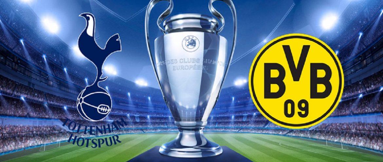 Tottenham x Borussia Dortmund