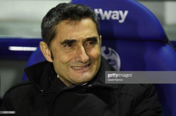 O técnico Ernesto Valverde estendeu o seu contrato junto ao Barcelona por mais dois anos.