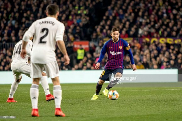 Curiosamente, este será o 40º El Clásico disputado por Lionel Messi ao longo de sua carreira.