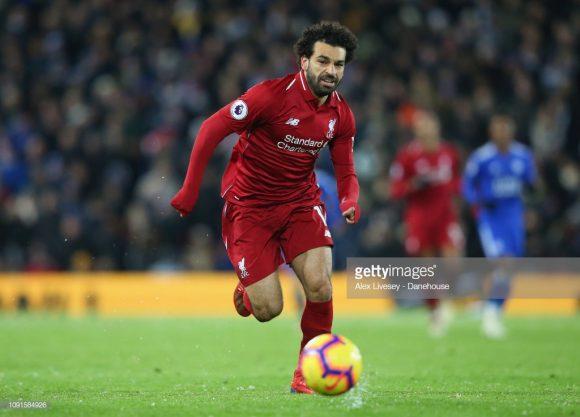 Mohamed Salah é o artilheiro da Premier League com 16 gols marcados até aqui.