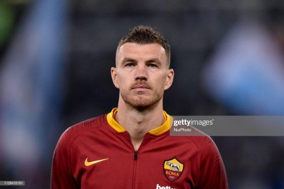 Edin Dzeko é a esperança de gols da Roma na partida contra o Porto. O bósnio é o artilheiro giallorossi na Champions League com 5 tentos marcados.