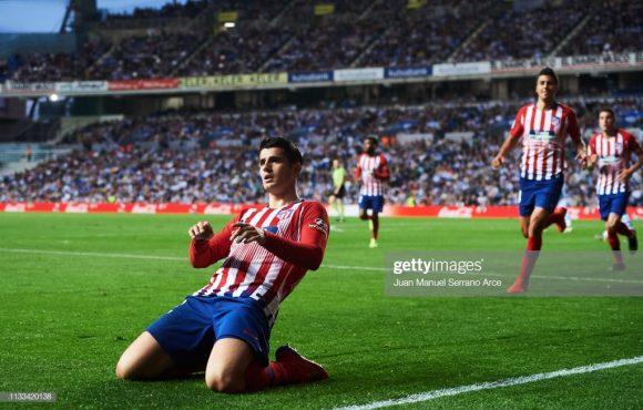 Com a suspensão de Diego Costa, o atacante Álvaro Morata iniciará a partida contra a Juventus, seu ex-clube, entre os titulares do Atlético Madrid.