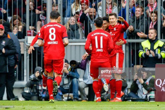 O Bayern Munique marcou três ou mais gols nos últimos nove jogos disputados na Allianz Arena.