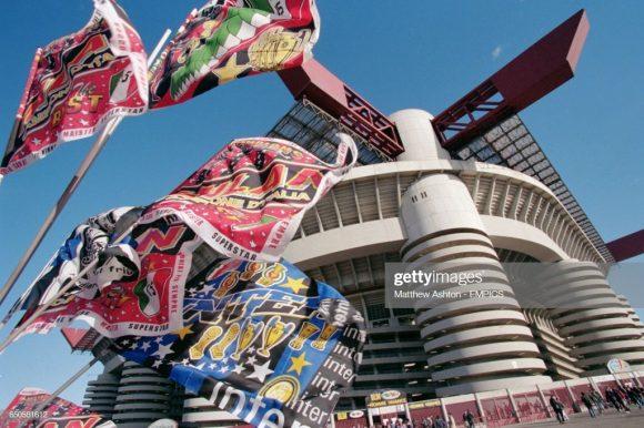 O clássico entre Milan x Inter,é chamado de Derby della Madonnina pois faz referência à uma estátua de Nossa Senhora localizada em cima da Catedral Duomo, ponto histórico de Milão,