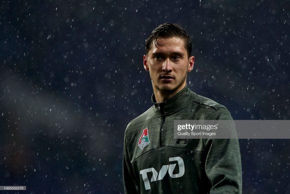 Anton Miranchuk é o artilheiro do Lokomotiv na liga russa com oito tentos marcados.