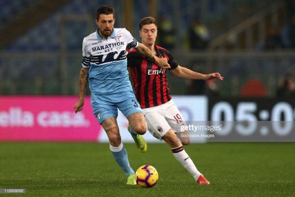 Os dois encontros entre Milan x Lazio na atual temporada, terminaram empatados. Pelo Calcio, ambos empataram por 1 a 1, enquanto pela Copa da Itália, o placar ficou 0 a 0, ambos disputados na capital italiana.