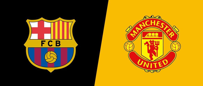 Barcelona x Manchester United
