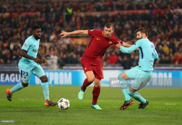 Nas quartas de final da edição anterior da Champions League, o Barcelona goleou a Roma por 4 a 1 no Camp Nou, mas como perdeu na capital italiana por 3 a 0, foi eliminado do torneio.