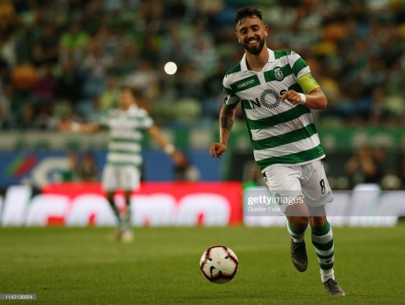 Bruno Fernandes é o artilheiro do Sporting na Primeira Liga com 20 gols marcados. A excelente temporada do meia português já despertou o interesse de grandes clubes europeus, dentre eles, o Atlético Madrid.