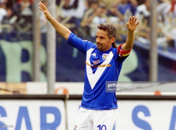 A melhor campanha do Brescia na história do Calcio, ocorreu na temporada 2000/01, época em que o time contava com o craque Roberto Baggio.