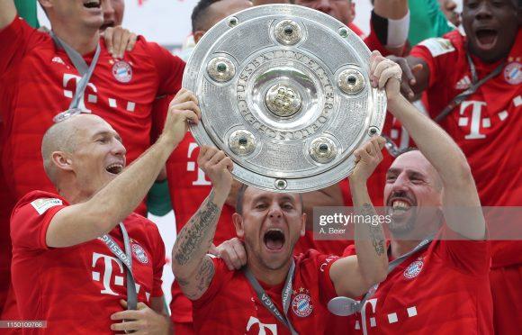o hepta alemão marcou o fim da trajetória de Arjen Robben, Rafinha e Franck Ribéry pelo Bayern. São doze anos de clube pro francês, dez pro holandês e oito pro brasileiro.