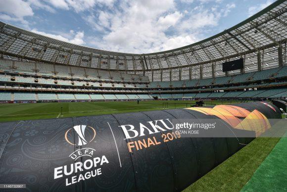 Jamais dois clubes ingleses disputaram a decisão da Europa League, desde a criação do torneio em 1971 (antiga Copa da UEFA).