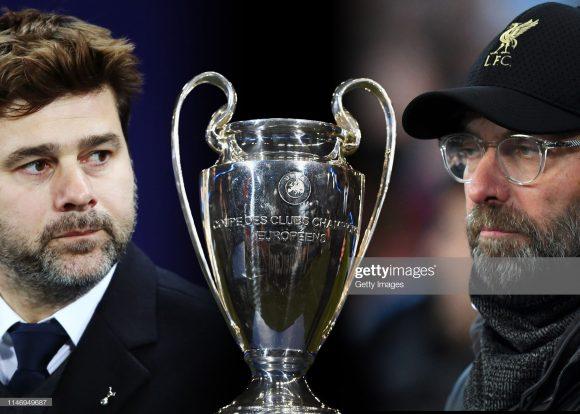 Mauricio Pochettino e Jurgen Klopp nunca foram campeões por Tottenham e Liverpool, respectivamente. Logo, um deles conquistará seu primeiro título na tarde deste sábado em Madrid.