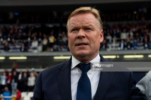 O bom desempenho de Ronald Koeman à frente da Holanda.