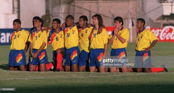 Desde que começou a disputar a Copa América, em 1939, o Equador só superou a fase de grupos da Copa América em três ocasiões na história do torneio.