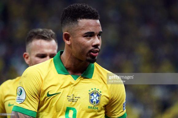 Após desperdiçar uma cobrança de pênalti na partida contra o Peru, Gabriel Jesus segue sem gols na Copa América. Será que o camisa nove de Tite encerrará o jejum nesta quinta-feira?
