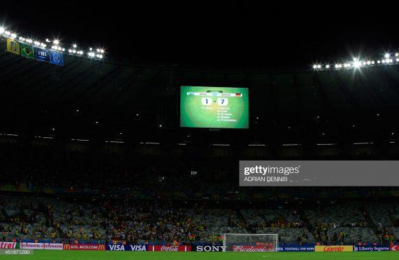 O estádio do Mineirão foi o palco do último jogo do Brasil válido por uma semifinal. Naquela oportunidade, a Seleção Brasileira foi goleada por 7 a 1 pela Alemanha na Copa de 2014.