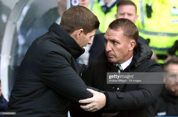 Em seu primeiro ano como técnico do Rangers, Steven Gerrard teve como rival, o treinador Brandon Rodgers, seu comandante no Liverpool entre os anos de 2012 a 2014.