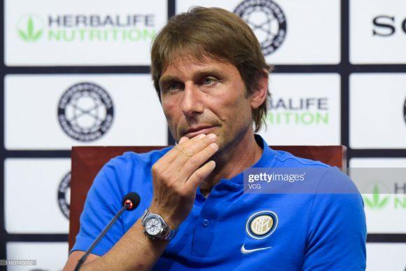 O vínculo contratual de Antonio Conte com a Internazionale, é válido até 2021.