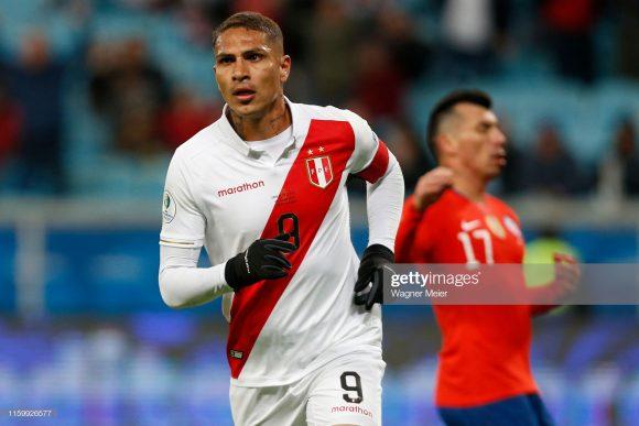 Com 13 gols marcados, o atacante Paolo Guerrero é o maior artilheiro da Copa América em atividade.