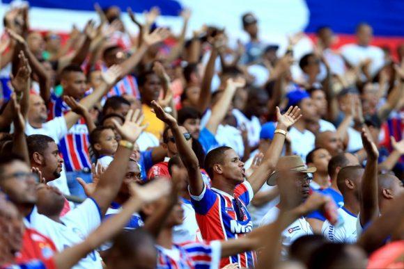 O Bahia venceu os últimos dez jogos disputados na Arena Fonte Nova, considerando todas as competições.