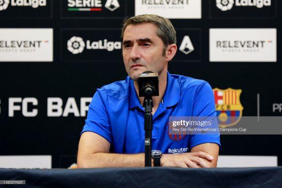O ex-clube do técnico Ernesto Valverde é justamente o Athletic Bilbao, clube pelo qual o treinador trabalhou entre os anos de 2013 a 2017, até transferir-se ao Barcelona. Pelo time basco, Valverde acumula 213 jogos.