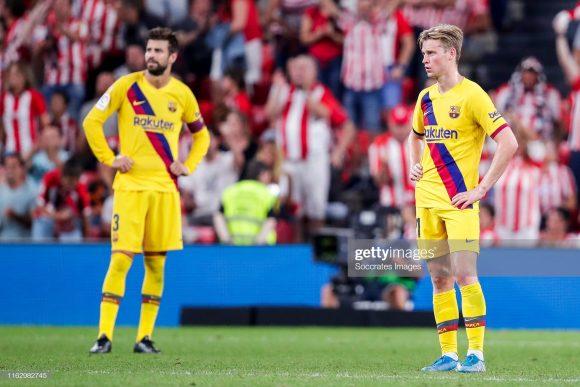 O Barcelona não era derrotado em uma estreia na La Liga, há exatas dez temporadas. Outro dado que evidencia o péssimo início dos catalães.