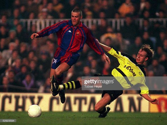 Borussia Dortmund e Barcelona jamais se enfrentaram pela Champions League ao longo da história, logo este será o primeiro embate entre eles pelo torneio.