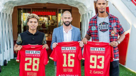Os jogadores Manuel Benson, Steven Defour e Zinho Gano, foram contratados no apagar das luzes, ou seja, no último dia da janela de transferências.