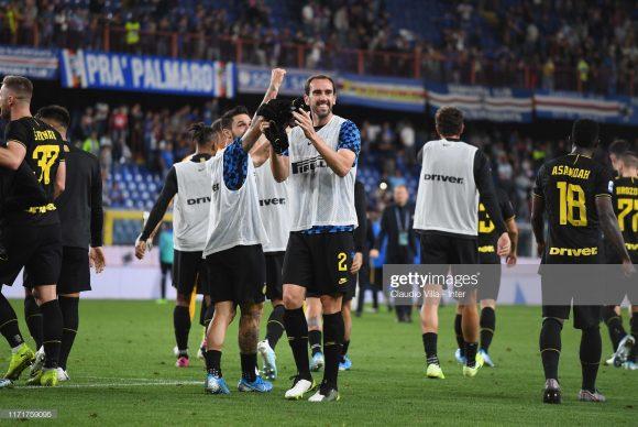 A Internazionale é dona da melhor defesa do Calcio, com apenas dois gols sofridos em seis jogos.