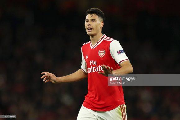 O brasileiro Gabriel Martinelli, ex-atleta do Ituano, é o artilheiro do Arsenal na Copa da Liga Inglesa com dois tentos marcados. Ele estará novamente em ação pelos Gunners nesta quarta-feira.