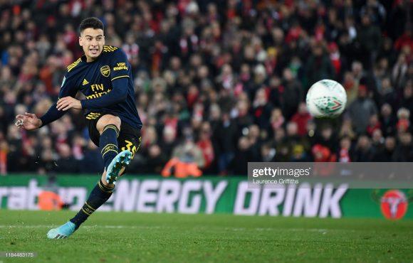 O único ponto positivo do Arsenal nesta temporada, é o atacante Gabriel Martinelli, que em sete jogos pelos Gunners marcou sete gols e deu duas assistências.