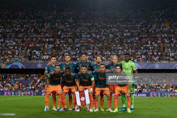 Assim como na temporada anterior, a média de idade da equipe do Ajax continua baixa, sendo de 23,8 anos.