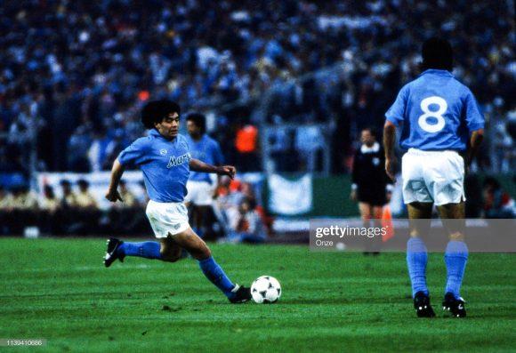 Em 2020, se completarão 30 anos desde a última conquista do scudetto Napoli.