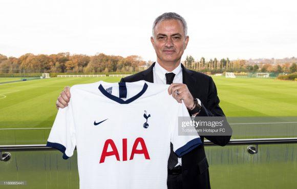 Depois de Chelsea e Manchester United, José Mourinho comandará o seu terceiro clube na Inglaterra.